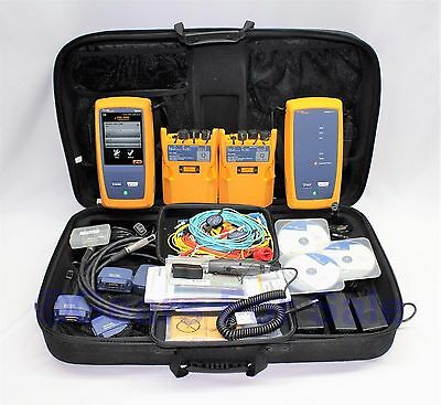 FLUKE DSX 5000 with MULTI MODE MODULES IN HARD CASE