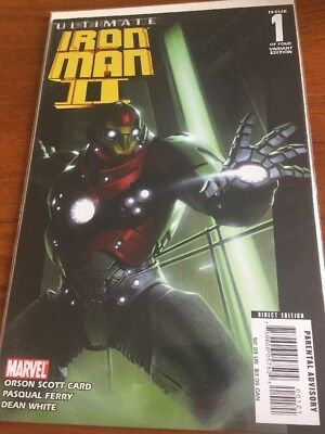 Comic Book Ultimate Iron Man 2 Issue 1 Variant Cover