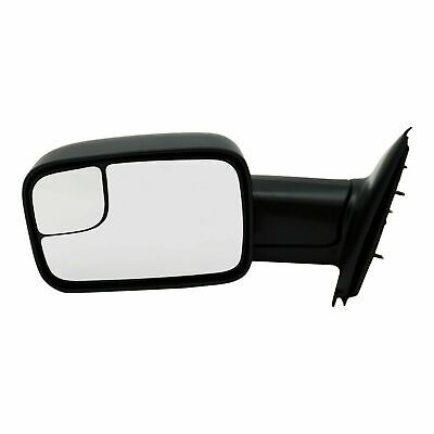 New CH1320227 Left Side Manual Non-Heated Mirror For Dodge Ram Trucks 2002-2009