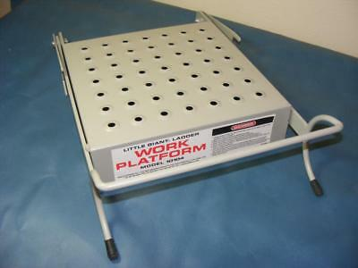 Little Giant Ladder Work Platform Model 10104  Work Platform Painted finish