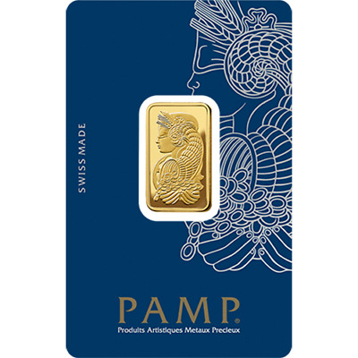 PAMP Suisse Gold 10g Minted Bullion Bar