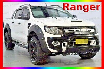 Ford Ranger PX MK1 Wrinkle Fender Flares Wheel Arch 6pcs 2012 2013 2014 2015