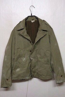 RARE 1940'S Vintage WW2 US Army M-41 Field Jacket US Military Clothes Uniform