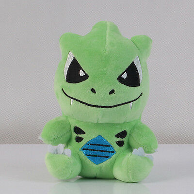 Pokemon Center Tyranitar Plush Doll Toy Soft Stuffed 7 inch Figure Xmas Gift