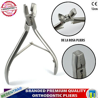 Dental De La Rosa Arch Contouring and Forming Pliers Orthodontic Wire Bending CE