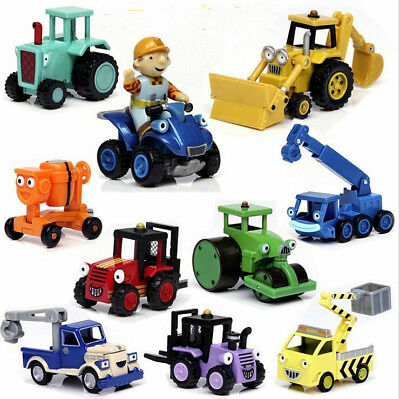 Bob The Builder Diecast Metal Car Loose Educational Toy Kids Boys Xmas Gifts NE