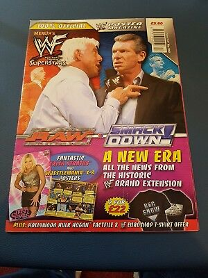 wwf 2002 poster magazine issue #12