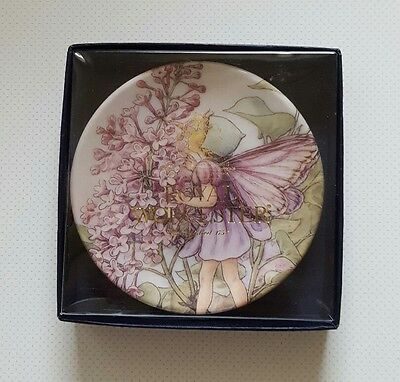 'the lilac fairy' flower fairies royal worcester cicely mary barker plate 9.5cm