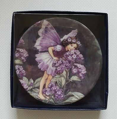 'the heliotrope fairy' flower fairies royal worcester cicely mary barker plate