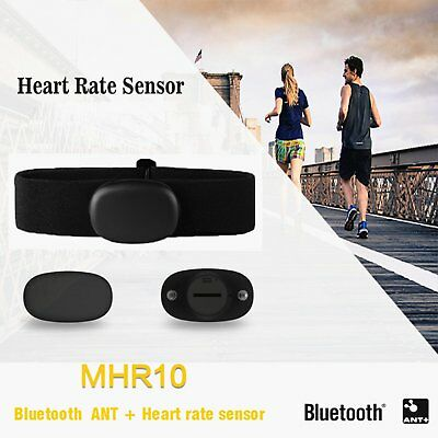 Magene MHR10 Dual Mode ANT+ & Bluetooth 4.0 Heart Rate Sensor Sports Tracker NEW