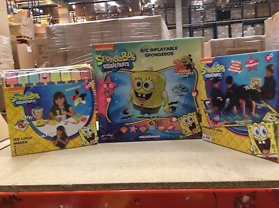 Spongebob Squarepants Amazing 3 Toys Offer