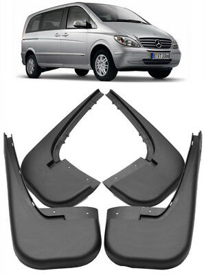 OEM Splash Guards Mud Guards Mud Flaps For 09-2011 Mercedes Benz Vito Viano W639
