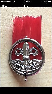 1920's - 1930' Vintage Scout Hat Badge, Extremely Rare