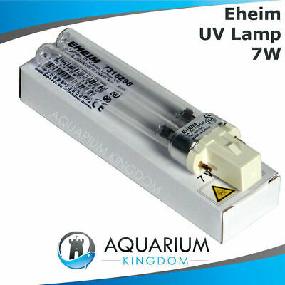 EHEIM 7315298 UV Lamp 7 Watt - reeflex 350 7W UV Steriliser/Clarifier Light Tube