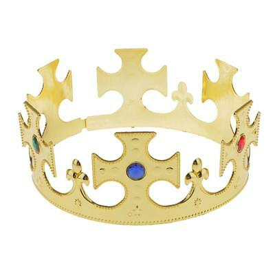 Nativity Majestic Crown King or Queen Fancy Dress Costume Party Props