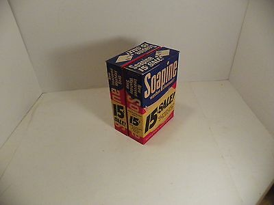 2 Vintg SOAPINE Laundry Detergent  Soap Cardboard Box Advertising Kendall MFG CO