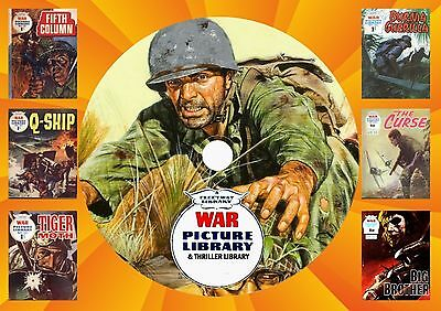 War Picture Library & Other Picture Library Comics On DVD Rom