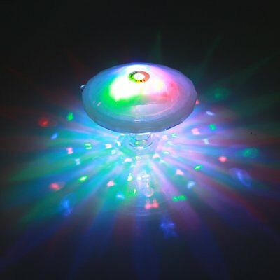 New Floating Underwater LED Disco Light Glow Show Swimming Pool Hot Tub Spa Lamp