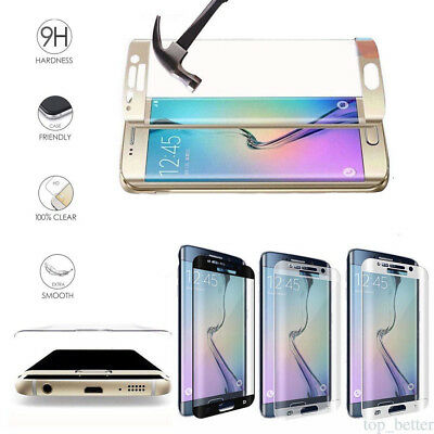 NEW Genuine Tempered Glass LCD Screen Protector Film For Samsung Galaxy S7 Edge