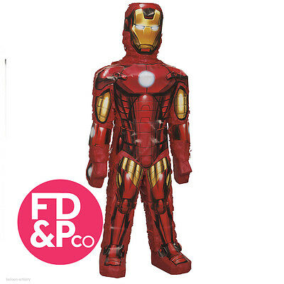 Avengers Iron Man 3D Hero Character Bash Pinata Party Game Decoration Spider-man