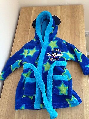 Baby boy dressing gown age 3-6 months