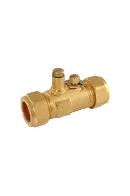 15mm GAS Test Point ISO Ball Valve