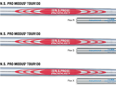 NEW Nippon N.S. Pro Modus3 Tour 130 Iron Shaft Sets – Choose Tip and Flex