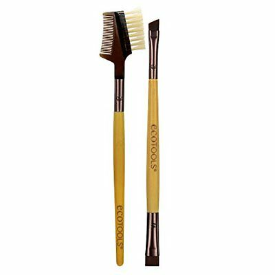 Ecotools Brow Shaping Set Duo de Brochas para Cejas con Plantillas - 1 Pack