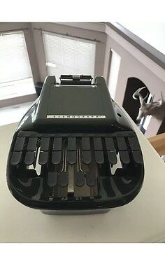 Vintage Stenograph Courtroom Typewriter Reporter Shorthand Machine Made In USA