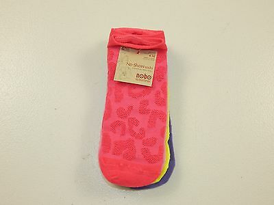 Women's Multi Color Textured  6Pk No Show Everyday Socks Size 4-10