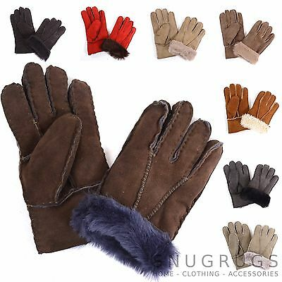 Childrens / Kids Soft Genuine Sheepskin Gloves