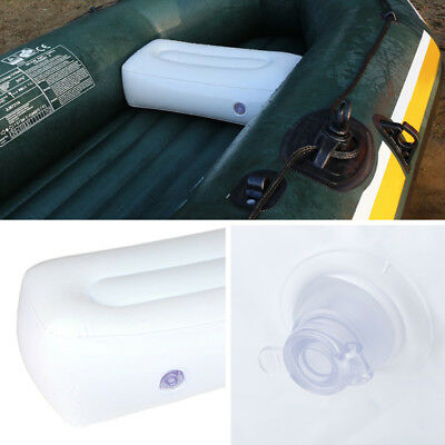 Inflatable Boat Air Cushion Fishing Boat Rest Seats Valve Pillow Outdoor Camping