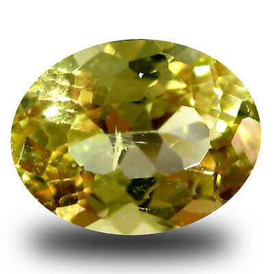 1.02 ct AAA Pleasant Oval Shape (8 x 6 mm) Yellow Heliodor Beryl Gemstone