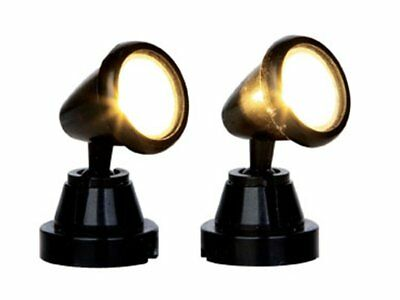 Lemax Faretti - Round Spot Light Set Of 2 Cod 44756 Village Presepe