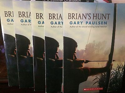 BRIAN'S HUNT~Gary Paulsen~ACCELERATED READING LOT of 5 BRIAN SURVIVAL AR