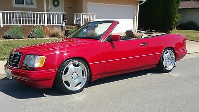1995 Mercedes-Benz E-Class Convertible 1995 Mercedes benz e320 convertible