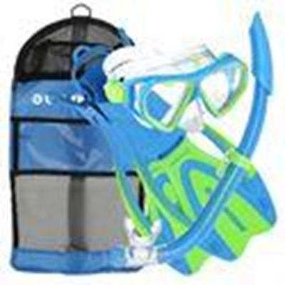U.S. Divers Dorado Youths Snorkel Set With Fins