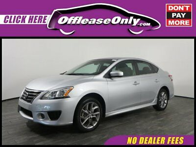 2014 Nissan Sentra SR FWD Off Lease Only Brilliant Silver 2014 NissanSentraSR FWD with 45038 Miles