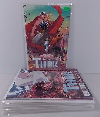Marvel Comics The Mighty Thor #1-17 Full Run Jason Aaron Russell Dauterman 2015