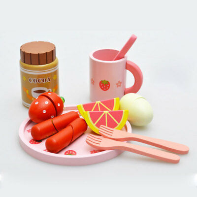 Wooden Bread Maker Machine Toys House Play Educational Intellectual Development