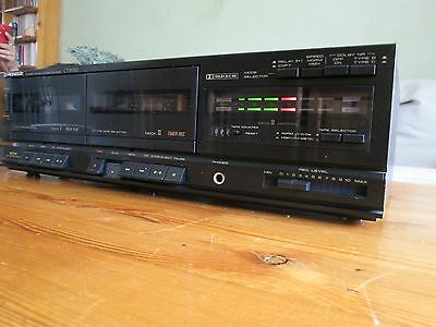 PIONEER CT-W310 cassette tapedeck  double high speed dub Dolby 220230V/50-60hz