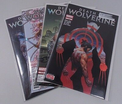 Complete Marvel Comics Death Of Wolverine #1-4 Full Set Charles Soule Mcniven
