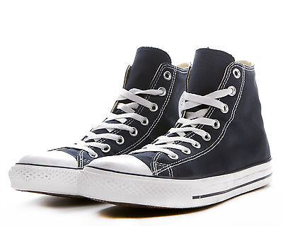 15758534be26 WOMENS CONVERSE NAVY Blue Chuck Taylor All Star High Top M9622 NEW ...