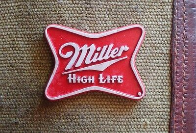 "Vintage classic Miller Beer ""High Life"" fridge rubber magnet"