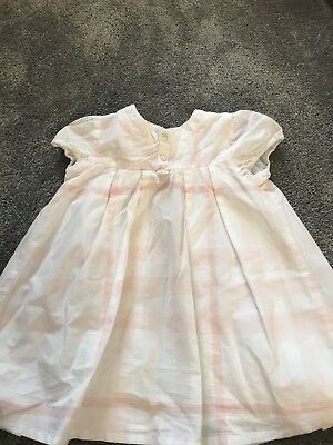 Girls Burberry 6 Month Old Dress