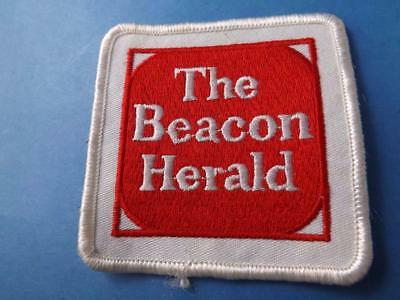 Beacon Harold Newspaper Stratford Vintage Uniform Patch Ont Canada Collector