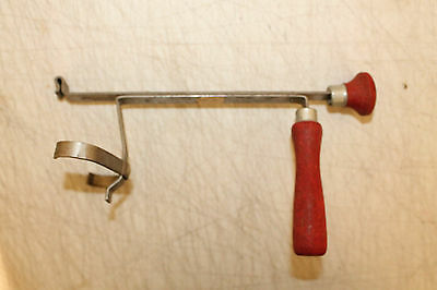 Madison ME Vintage Antique Safety Sealer Corp Fruit Jar Opener Wooden Handle