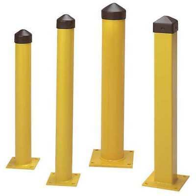 "Bollard,Concrete,5"",24 In. H,Yellow ZORO SELECT 1752"