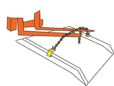 Lifting Chain,For Bluff Dock Boards ZORO SELECT ACLC