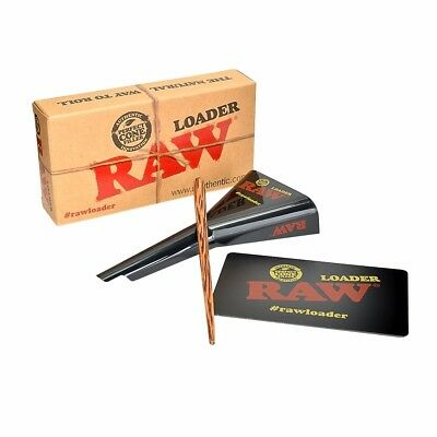 Raw Classic Rolling Papers King Size 98 Special Cone Loader w Card Poking Tool